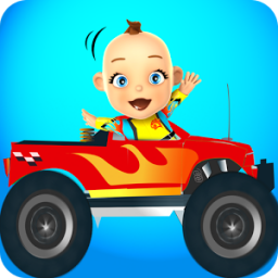Baby Monster Truck Game – Cars App by Kaufcom Games Apps Widgets