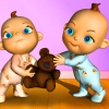 Talking Baby Twins - Babsy app by Kaufcom Games Apps Widgets
