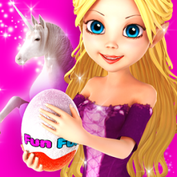 Princess Unicorn Surprise Eggs App by Kaufcom Games Apps Widgets