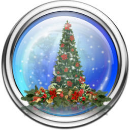 Snow Globe Christmas Tree LWP App by 1473labs