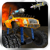 Crazy Monster Truck Fighter 3D App by MouthShut Games