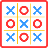Tic Tac Toe app by Shape & Colors