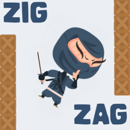 Zig Zag Jump App by Shape & Colors