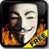 Anonymous Live Wallpaper Free App by Death Star Apps