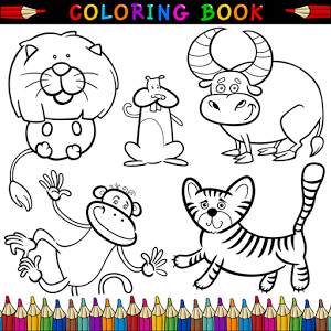 Coloring Book and Coloring Games App by HS3LZX