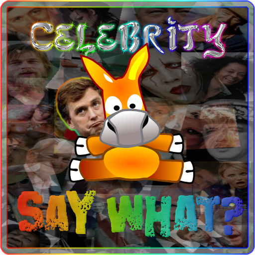 Celebrity Say What? App by MyZUMBi!