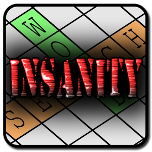 Word Search Insanity App by Seneca Creek Software