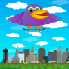 Skateboard Bird App by WaZUMBi!