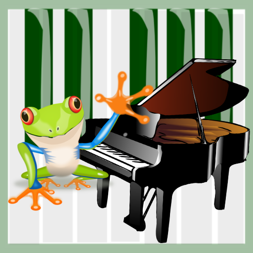 Toddler Froggy Piano App by WaZUMBi!