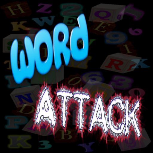 Word Attack Puzzle Game App by WaZUMBi!