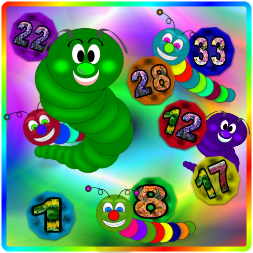 Caterpillars Can Count App by WaZUMBi!