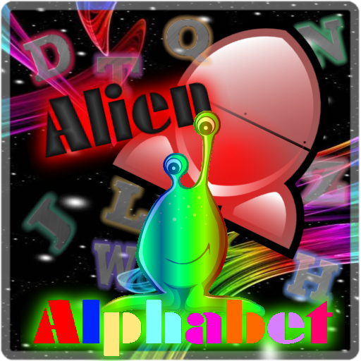 Alien Alphabet App by WaZUMBi!
