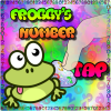 Froggy's Number Tap App by WaZUMBi!