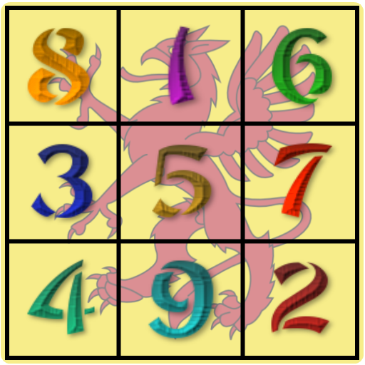 Magic Square Puzzle Games App by WaZUMBi!