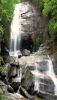 +waterfall+rocks+boulders+background+ clipart