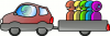 +people+car+pooling+ clipart