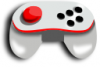 +technology+tech+game+controller+dated+ clipart