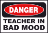 +education+learn+danger+teacher+bad+mood+ clipart