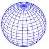 +education+sphere+globe+blue+lines+ clipart
