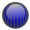 +education+sphere+globe+navy+lines+on+blue+ clipart