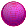 +education+sphere+globe+red+lines+on+purple+ clipart