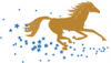 +animal+mammal+horse+stars+ clipart