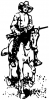 +animal+ungulate+mammal+Equidae+cowboy+on+horse+ clipart