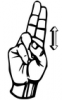 +signal+german+sign+language+hand+communication+u+diaeresis+ clipart