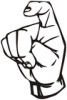 +signal+german+sign+language+hand+communication+x+ clipart