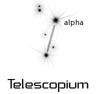 astronomy astrology space constellation telescopium  clipart