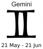+astrology+horoscope+astrometry+Zodiac+gemini+label+ clipart