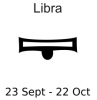 +astrology+horoscope+astrometry+Zodiac+libra+label+ clipart