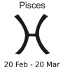 +astrology+horoscope+astrometry+Zodiac+pisces+label+ clipart