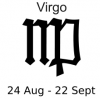 +astrology+horoscope+astrometry+Zodiac+virgo+label+ clipart