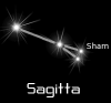 +astronomy+astrology+space+constellation+sagitta+black+ clipart