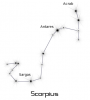 +astronomy+astrology+space+constellation+scorpius+ clipart
