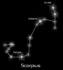 +astronomy+astrology+space+constellation+scorpius+black+ clipart