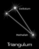 +astronomy+astrology+space+constellation+triangulum+black+ clipart