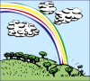 +climate+weather+clime+atmosphere+rainbow+ clipart