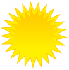 +climate+weather+clime+atmosphere+simple+weather+set+sun+bright+yellow+sun+ clipart