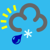 +climate+weather+clime+atmosphere+weather+icon+blue+sleet+shower+ clipart
