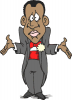 +marry+marriage+wedlock+matrimony+wedding+groom+left+confused+ clipart
