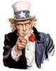 +vote+voting+politics+election+unclesam+ clipart