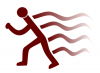 +sports+run+running+walking+exercise+runner+with+wake+ clipart