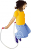 +sports+sport+exercise+girl+jumprope+ clipart