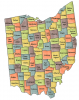 +state+territory+region+map+normal+US+State+Counties+Ohio+ clipart