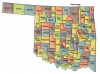 +state+territory+region+map+normal+US+State+Counties+Oklahoma+ clipart