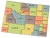 +state+territory+region+map+normal+US+State+Counties+Wyoming+ clipart