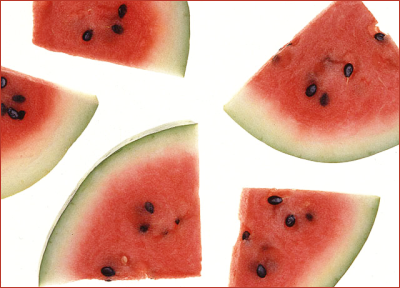 fruit food produce watermelon slices  clipart