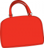 +cloth+clothing+fashion+bright+red+purse+ clipart